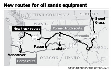 New Routes for Oil Sands Equipment