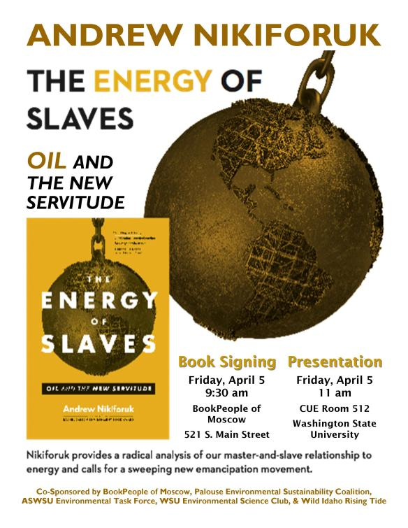 The Energy of Slaves Flyer