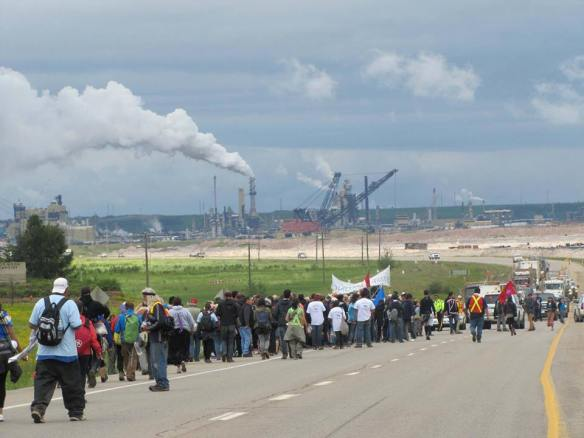 A Healing Walk through the Alberta Tar Sands 1