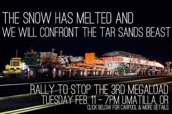 Rally to Stop the Third Megaload 2-11-14