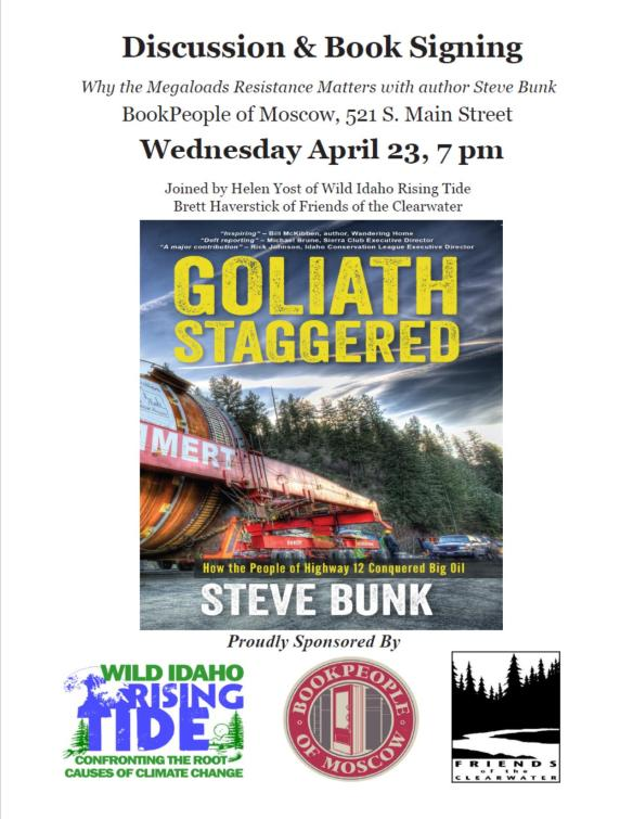 Goliath Staggered Flyer Photo
