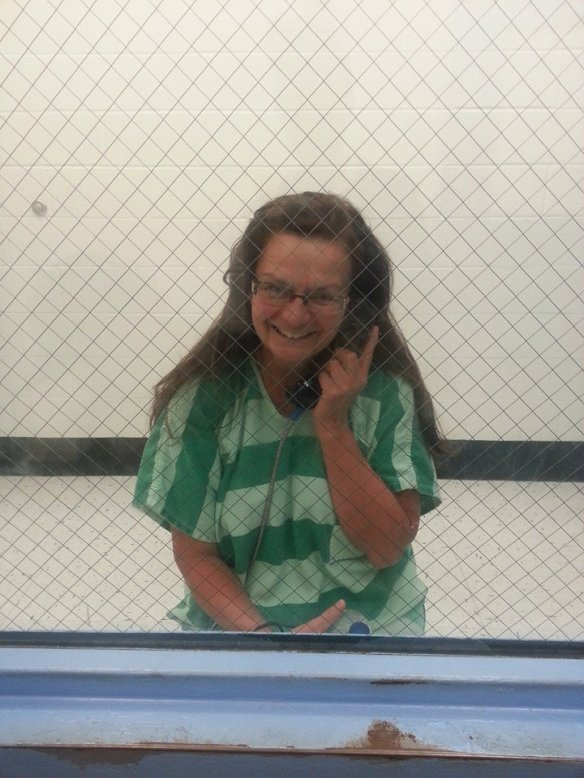 Alma Hasse in Jail