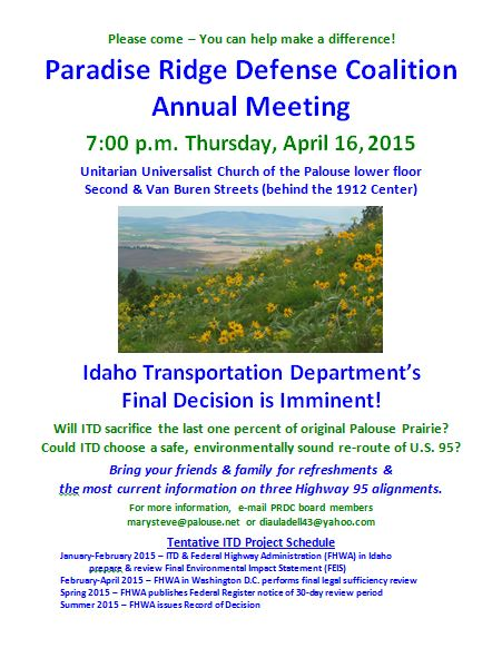 PRDC Annual Meeting 2015 Flyer, final