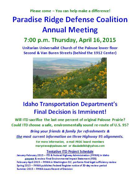 PRDC Annual Meeting 2015 Flyer, final