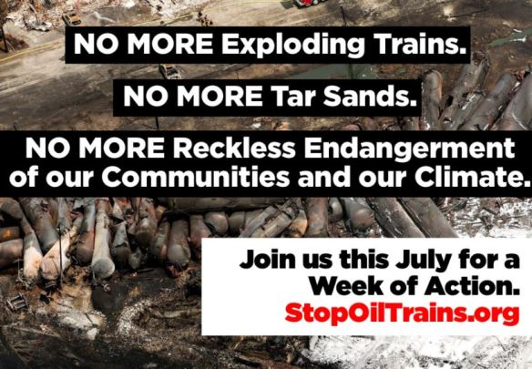 Stop Oil Trains