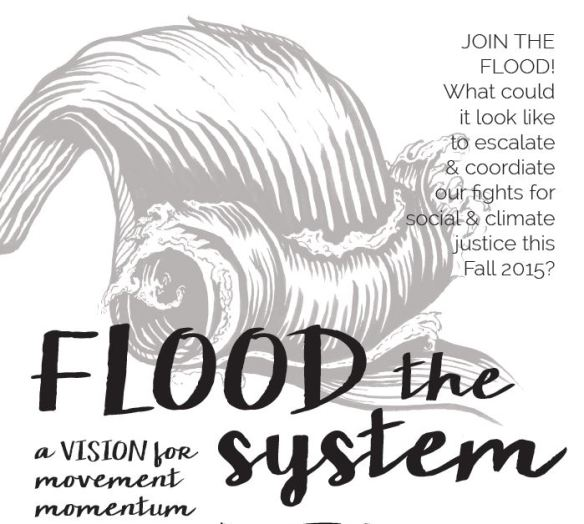 Flood the System Partial Flyer