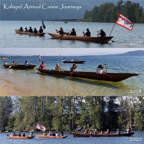 Kalispel Annual Canoe Journeys